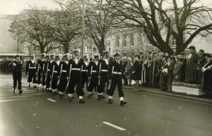 Remembrance Parade March Past - Photo by Brian Wilson (Ref.1)