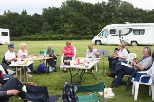 Caravanning at the Royal Victoria Country Park 2014